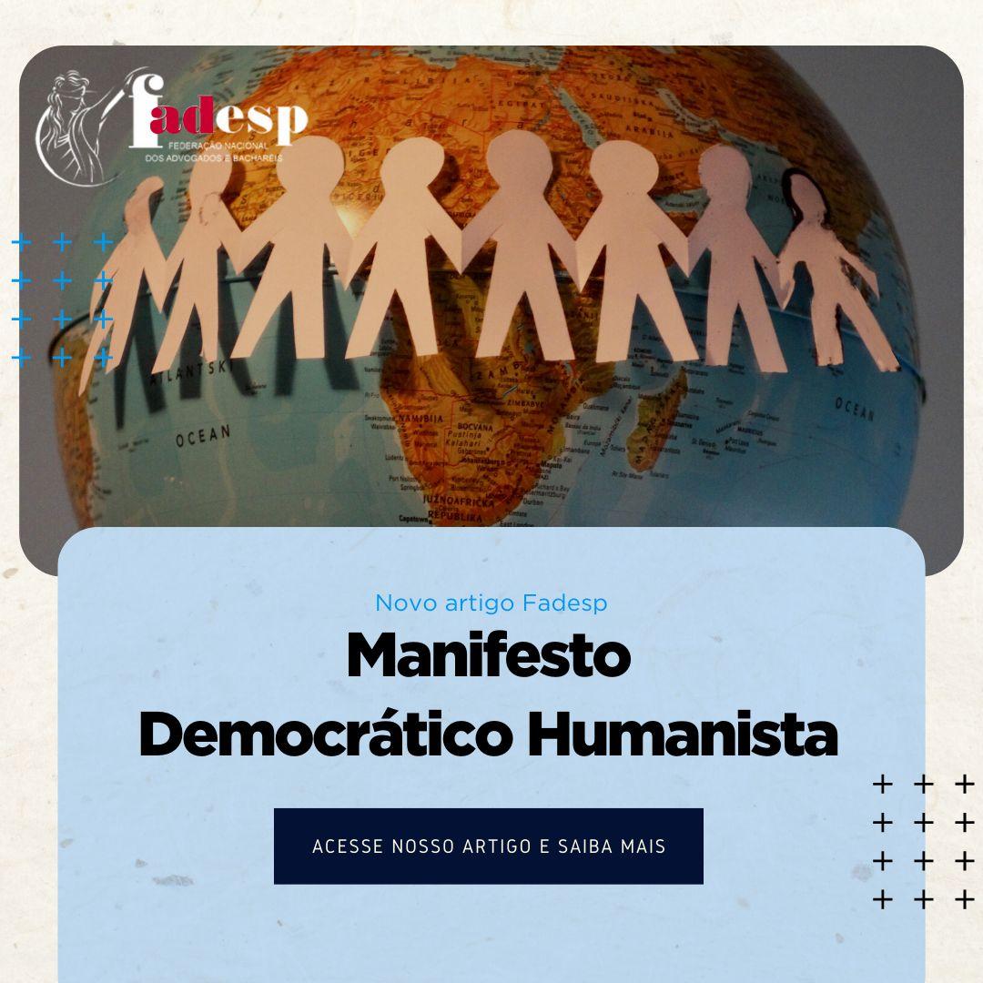 Manifesto Democrático Humanista